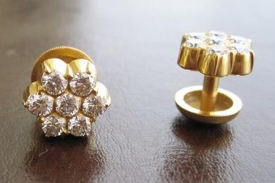 92474778d Vajra Kutka – Traditional Diamond Earrings – Konkani Kesari